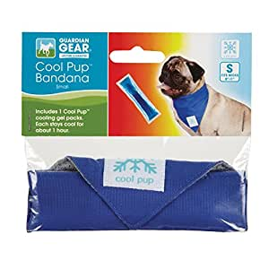 """Cool Pup Bandanas for Dogs, Small, Fits Necks 8""""–11"""""""