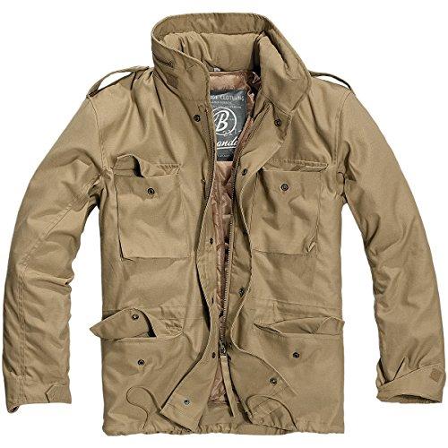 Brandit Mens M-65 Classic Jacket Olive