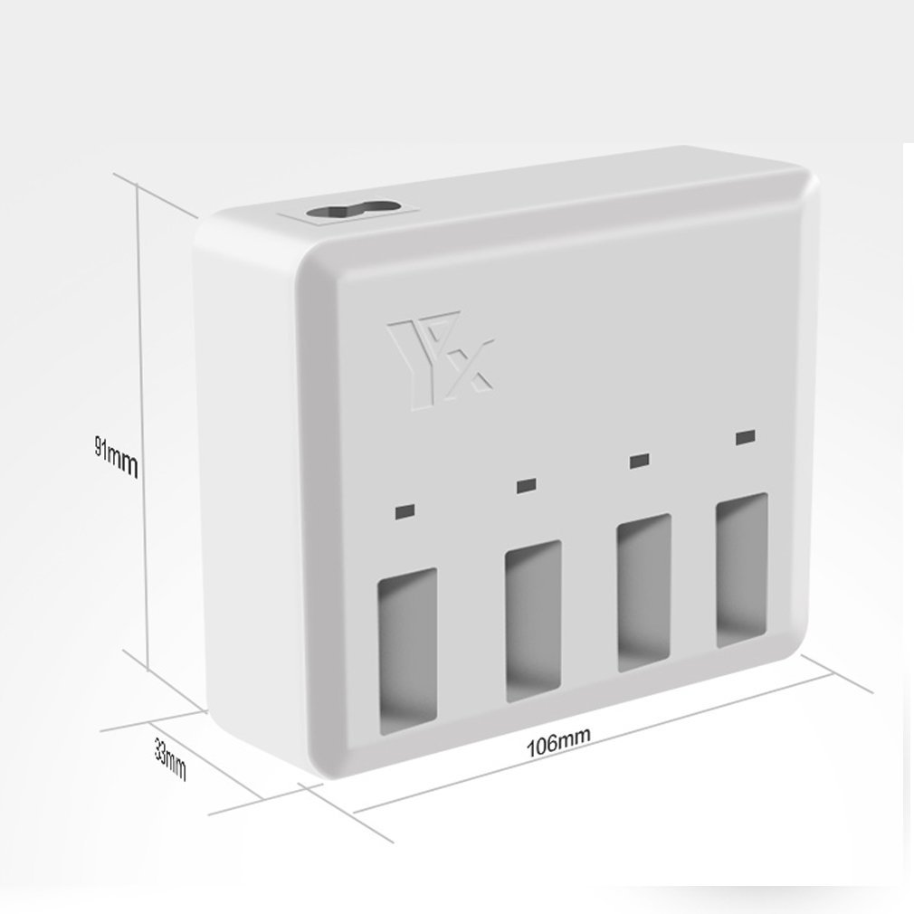 4 in 1 Charger for DJI Tello Battery Rapid Charging Hub Charging Accessories Tercel Inc 2A Tello Charger