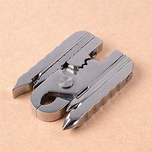 15 in 1 Folding Multi-tool Pliers Keychain Screwdriver Combin EDC Outdoor Tool