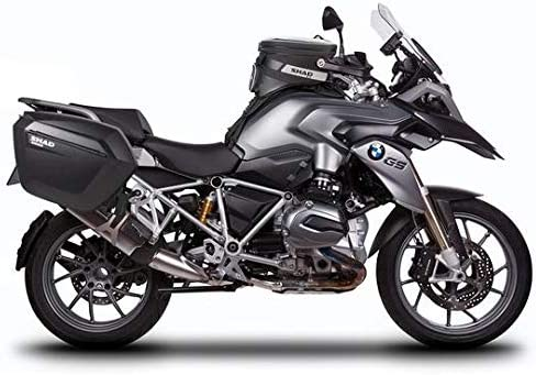 Negro Shad W0RS15IF Soporte Maletas 3P System para BMW R1200Rs