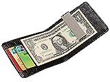 Marshel Wallet With Money Clip Black AX-CC017-BK