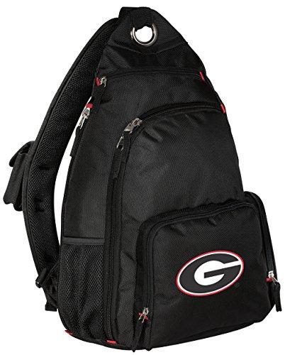 University of Georgia Backpack Single Strap Georgia Bulldogs Sling Backpack
