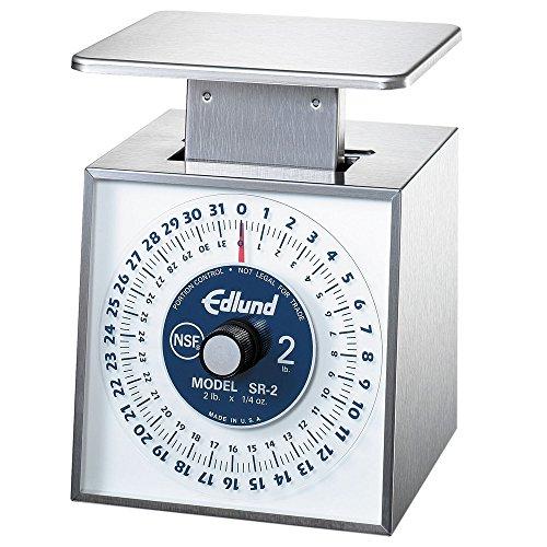 Edlund SR-2 Premier Series 32 oz. Mechanical Portion Scale with 6
