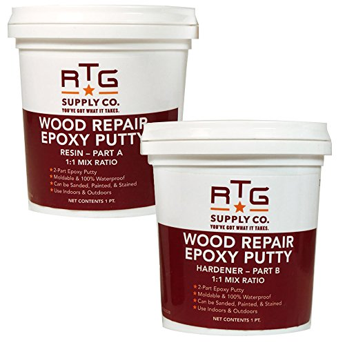 Marine Paste Epoxy (RTG Wood Repair Epoxy Putty (2-Pint Kit))