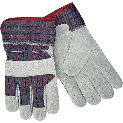 Steiner SPC05-L Leather Palm Work Gloves, Economy Shoulder Split Cowhide, 2-Inch Safety Cuff, Large (12-Pack) - Economy Shoulder Split Work Gloves