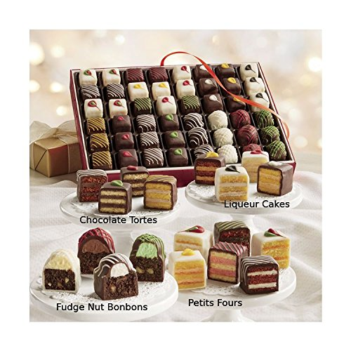 24 Piece Petits Fours & Bonbons Gift Box from The Swiss Colony