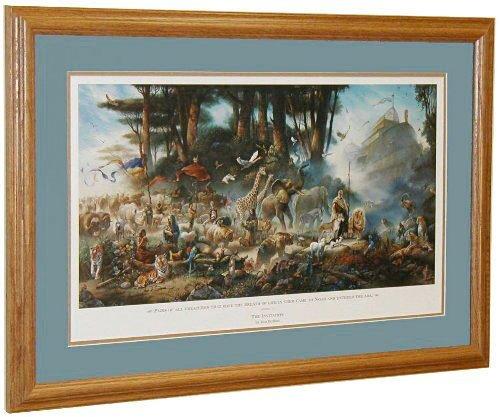 Tom duBois THE INVITATION Hand Signed by the Artist Matted & Framed Noah's Ark - Signed Framed Artist