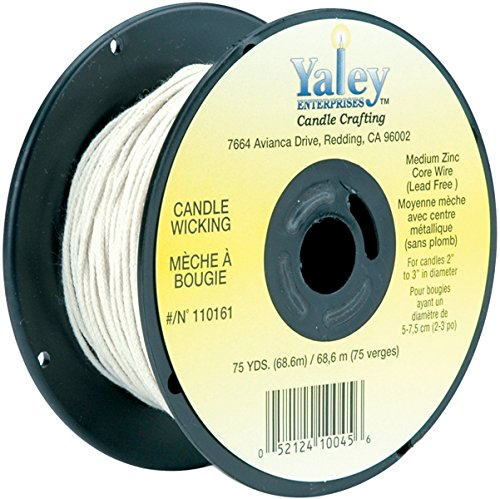 Paper Core Wick - Yaley Candle Wicking Wire, Medium