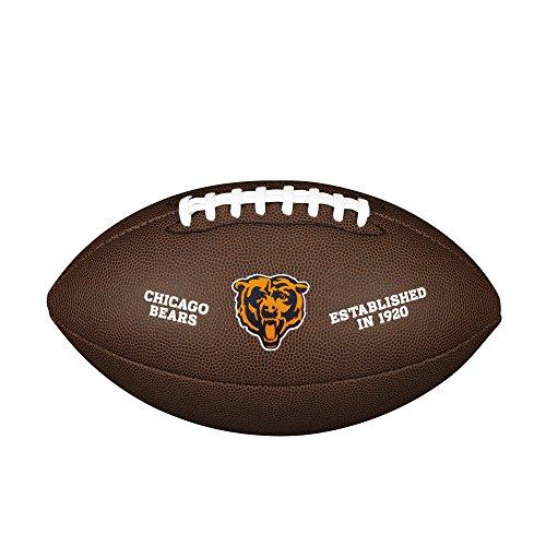 NFL Team Logo Composite Football, Official - Chicago Bears