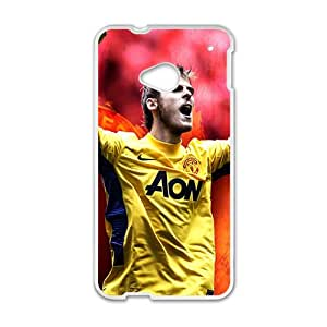 JIAJIA MANCHESTER UNITED Premier Soccer Phone Case for HTC One M7