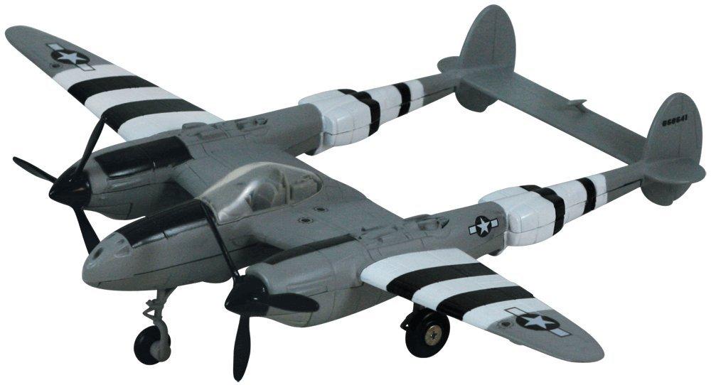 Smithsonian Museum Replica Series P-38 Lightning - 1/60 Scale