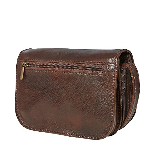 Assima Handbag Loubs Alaska Brown [850] Marrone