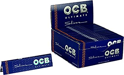 OCB ULTIMATE SLIM Rolling paper King Size FILTER TIPS
