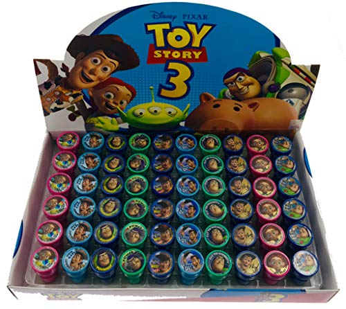 Disney Toy Story Self-Inking Stamps / Stampers Party Favors (10 Counts)