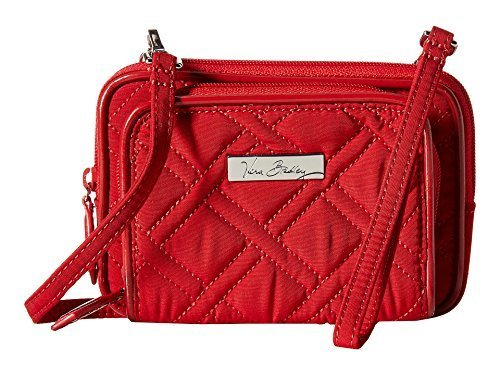 Vera Bradley Women's On The Square Wristlet Tango Red/Red One Size by Vera Bradley (Image #1)