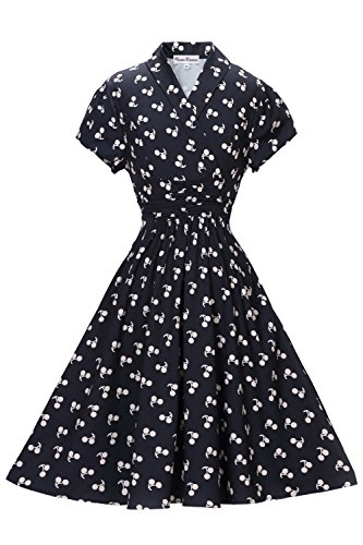 Classy Vintage Style Women's Dress by Vienna Summer | # - Retro Inspired
