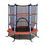 "Aosom 55"" Kids Jumping Trampoline & Enclosure Set"
