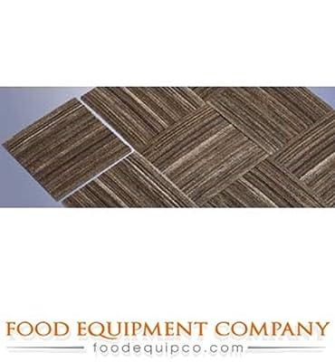 """Cactus Mat Co. 29-TCS Tire-Tex Carpet Tile 12"""" x 12"""" 3/8"""" thick - Case of 25"""