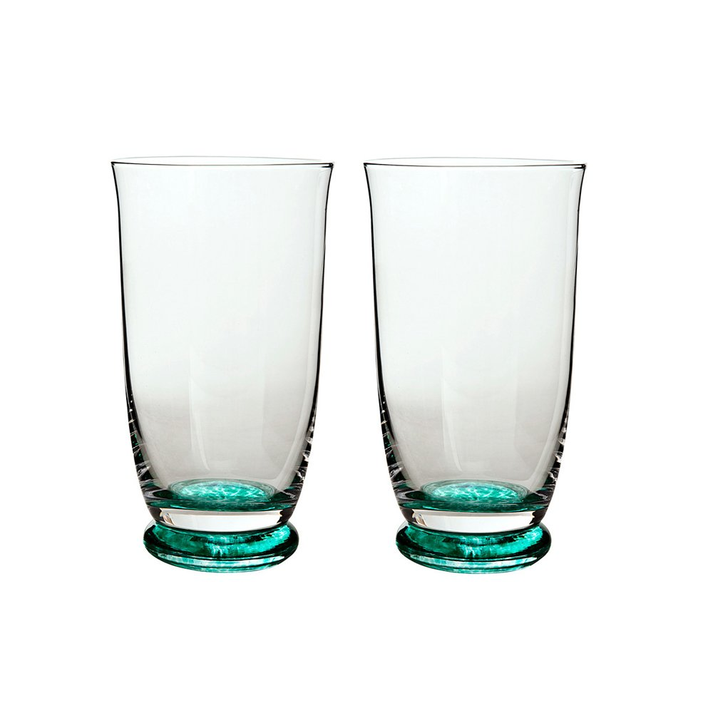Denby Greenwich/Regency Green Large Tumbler - Set of 2 REG-802/2 Barware & Glasses Drinksware Sets