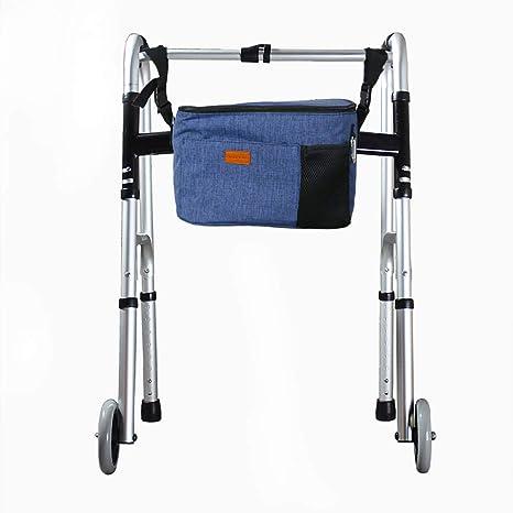 Bolsa de accesorios para silla de ruedas, bolsa para caminar, organizador para personas mayores