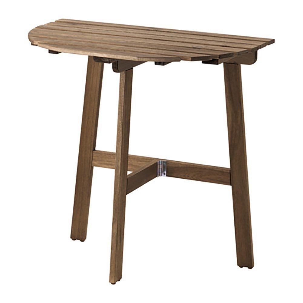 Créative Bois Oudoor Balcon Table Pliante Table Latérale Cuisine Table À Manger Bureau D'ordinateur