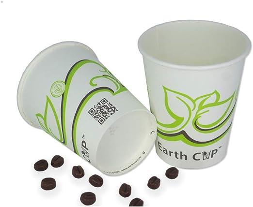 zi pac Earth CupTM Bio - Taza de café para Llevar, desechable ...