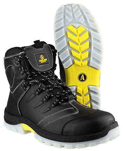 Amblers Safety FS196 Mens S3 Safety Boots Black Negro - negro