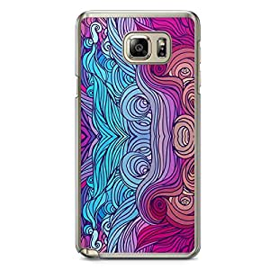 Hairs Samsung Note 5 Transparent Edge Case - Design 15