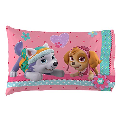 Nick Jr Paw Patrol Girls Best Pup Pals Twin Sheet Set