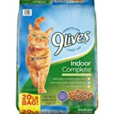9Lives Indoor Complete Dry Cat Food, 20 Lb