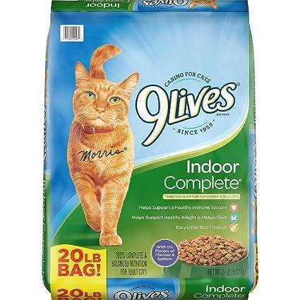 Amazon Com 9lives 20 Lb Indoor Complete Dry Cat Food Large Pet