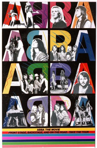 Abba: The Movie Poster Movie German D 11x17 Anni-Frid Lyngstad Benny Andersson Bj÷rn Ulvaeus