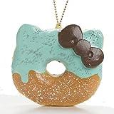 Sanrio Hello Kitty Super Soft Squishy Big Donut Ball Chain...
