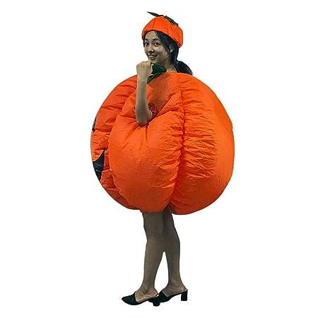 SSBH Disfraz Inflable de Calabaza Disfraz Hinchable Naranja ...