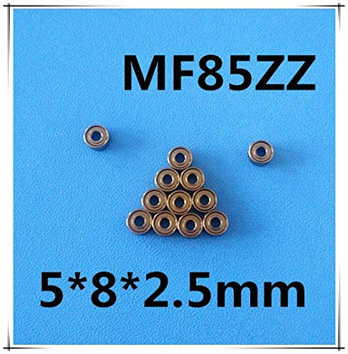 Ochoos (4 PCS) MF85ZZ (5x8x2.5mm) (Flange) Metal Shielded Ball Bearing for Tamiya TRAXXAS -