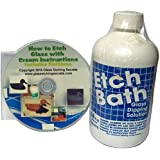 Glass Etch Dipping Solution (16 oz) , Etch Bath + Free How to Etch CD