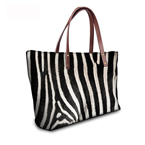 Bages leather C8wc0452al Handbags Casual FancyPrint Women Tote wvxEqWTp