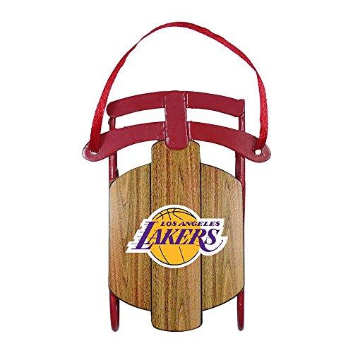 - NBA Los Angeles Lakers Metal Sled Ornament