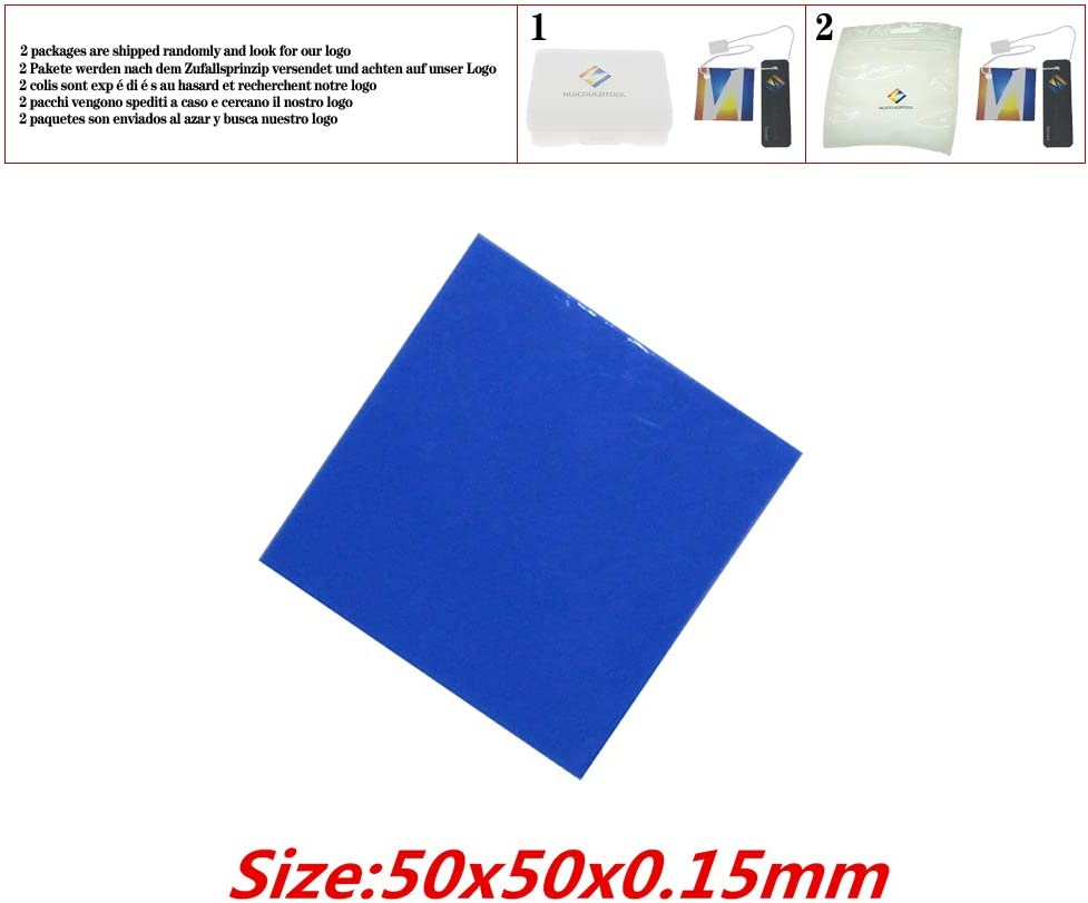 30pcs//lot 50x50mm Thermally Conductive Adhesive Transfer Tapes Thermal pad Double Sided Tape for heatsink Radiator