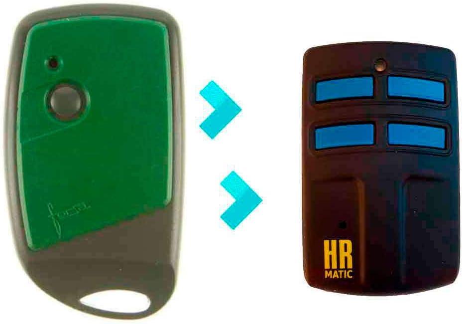 Mando de Garaje Universal HR MULTI 2 compatible FORSA RT1