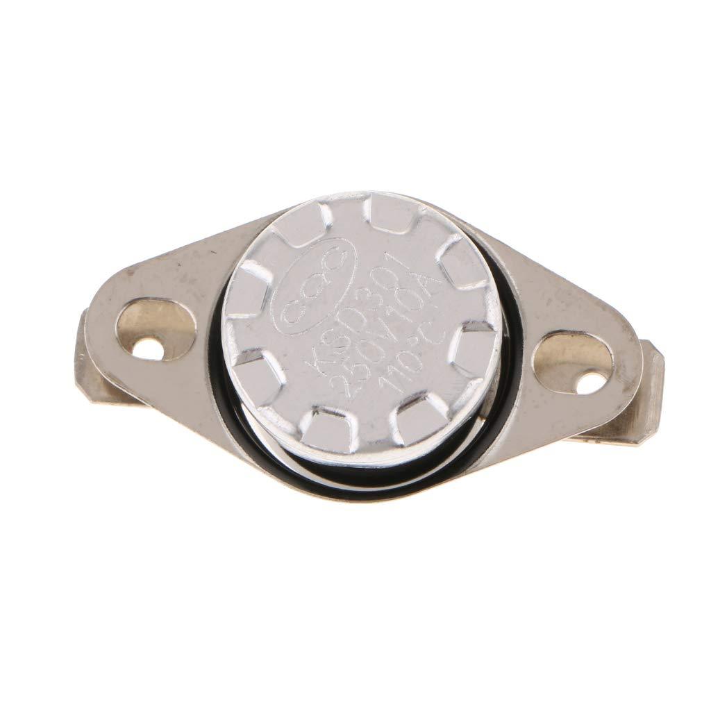 Schlie/ßer Silber 125 /° Thermostat Homyl 5 St/ücke KSD301 0-220 /° C Temperaturschalter