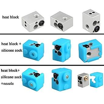 Laliva Impresora 3D - Bloque de calefacción para impresora 3D ...