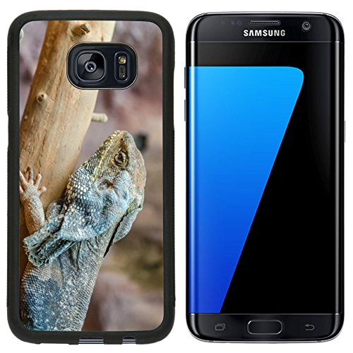 MSD Premium Samsung Galaxy S7 Edge Aluminum Backplate Bumper Snap Case Frilled Lizard IMAGE 20988032