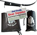 "⭐ ⭐ ⭐ ⭐ ⭐ Chill Gorilla, a US-Based company. 100% Customer Satisfaction Rating  Our 2 Gear Sleeves Total 14'5"" and Will Fit Virtually Any Hammock, Rainfly, or Tarp! [The Largest Snakeskins Available]  Why Do People Love Our Gear Sleeves? The simplici..."