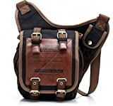 Retro Vintage Canvas Bag Travel Men Messenger Bag Man Crossbody Bags Shoulder Bags For Men