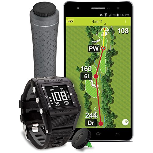 NEW SkyCaddie Golf LINX GT GPS Range Finder Watch Game Track