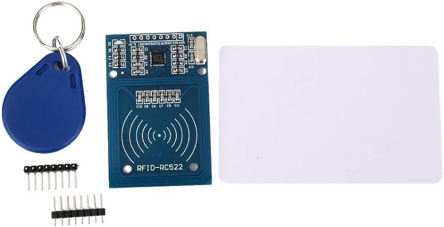RC522 modulo de tarjeta de antena lector de RFID IC tarjeta ...