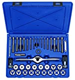 Irwin Tools 1835091 Performance Threading System Tap and Die Set -Machine Screw/Fractional, 40-Piece