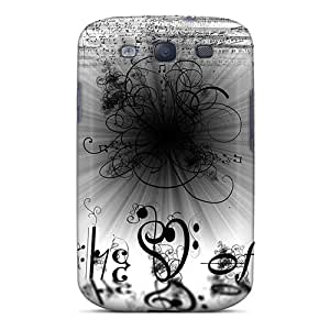 Fashionable MJS27601mAYL Galaxy S3 Cases Covers For For The Love Of Music Protective Cases Black Friday